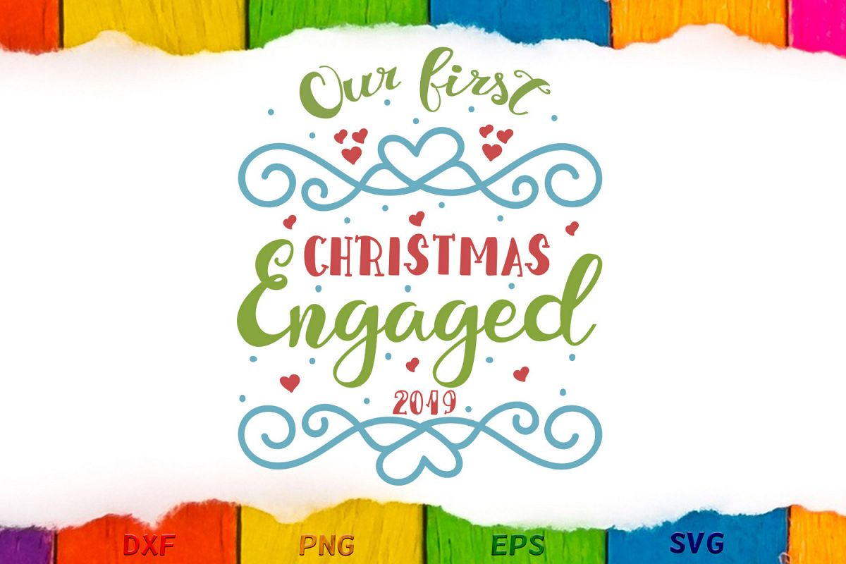 Our first Christmas engaged example image 1