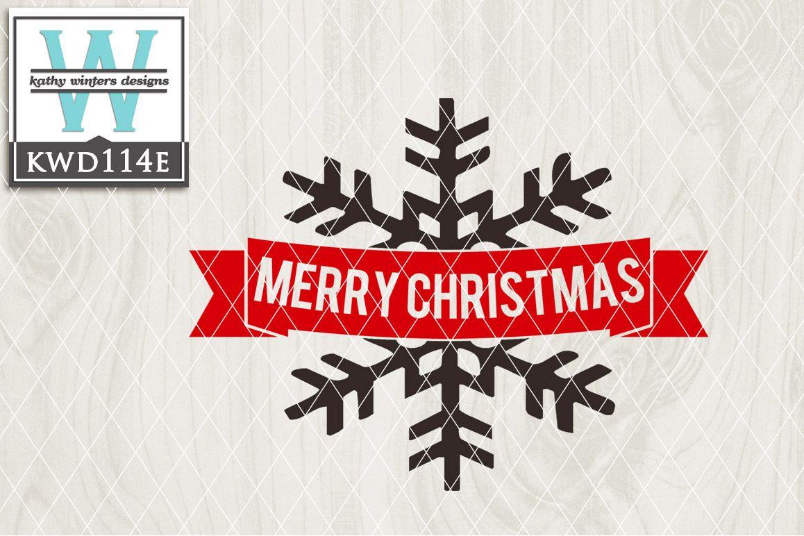 Christmas Cutting File KWD114E example image 1
