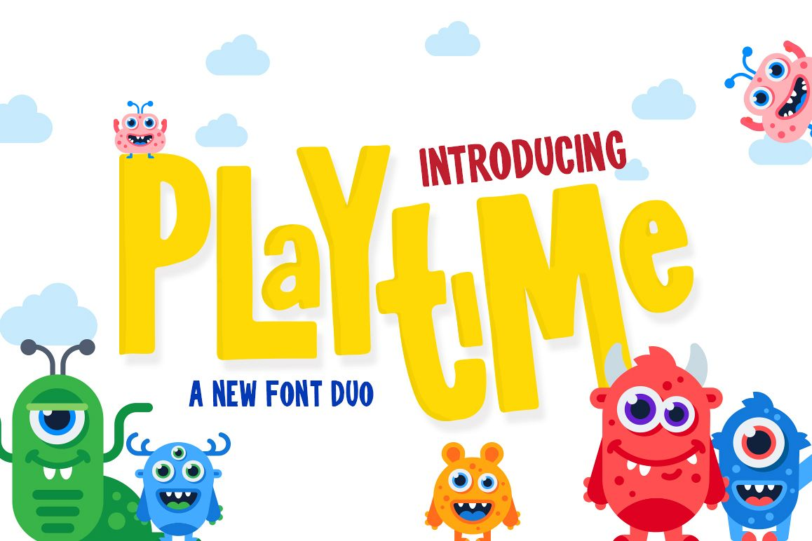 Playtime Font example image 1