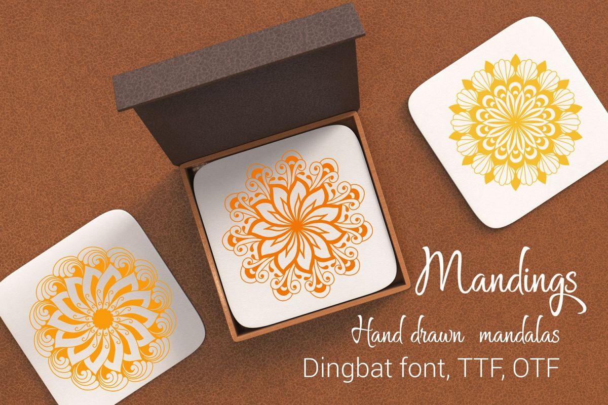 Mandings font example image 1