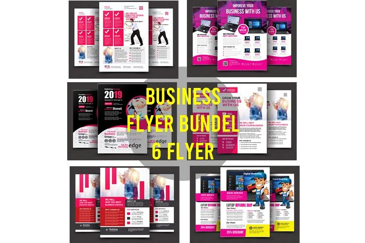 Business Bundle Flyer 6 example image 1