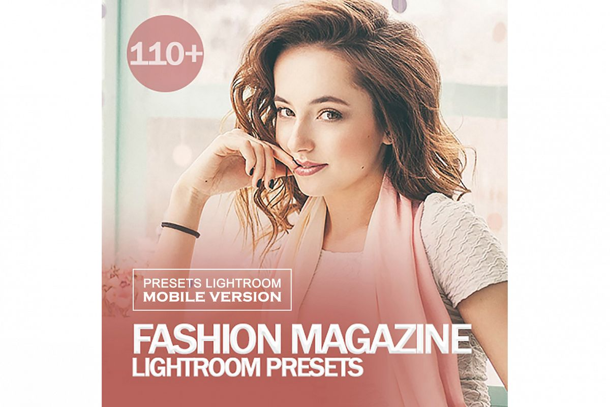 Fashion Magazine Lightroom Mobile Presets example image 1