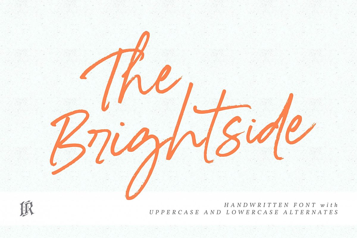 The Brightside Font example image 1