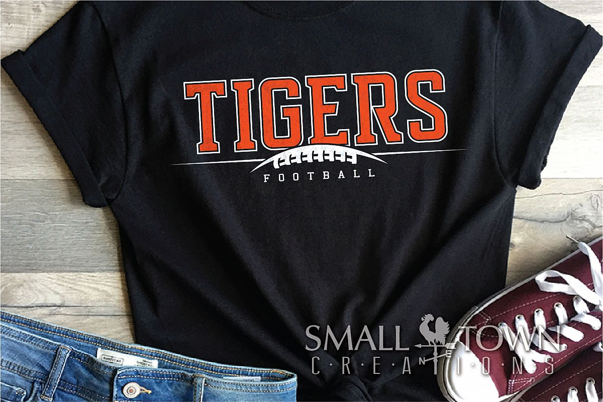 Tiger, Tiger Football Team, Team, Sport, PRINT, CUT & DESIGN example image 1