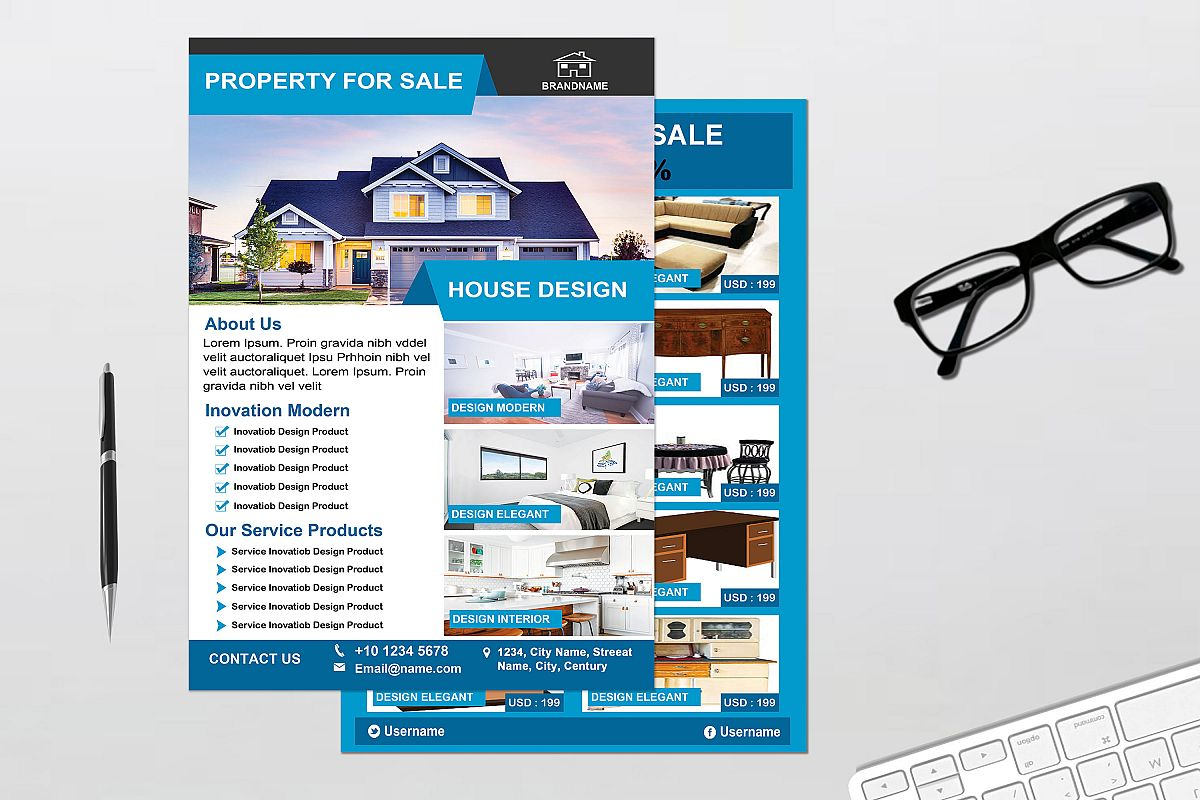Flyer - Real Estate example image 1