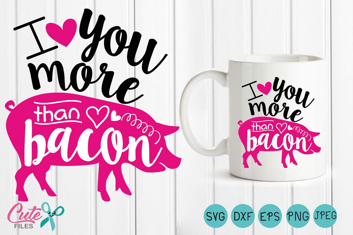 I Love You More Than Quotes Valentine Svg Valentines Day Quotes I  Design Bundles