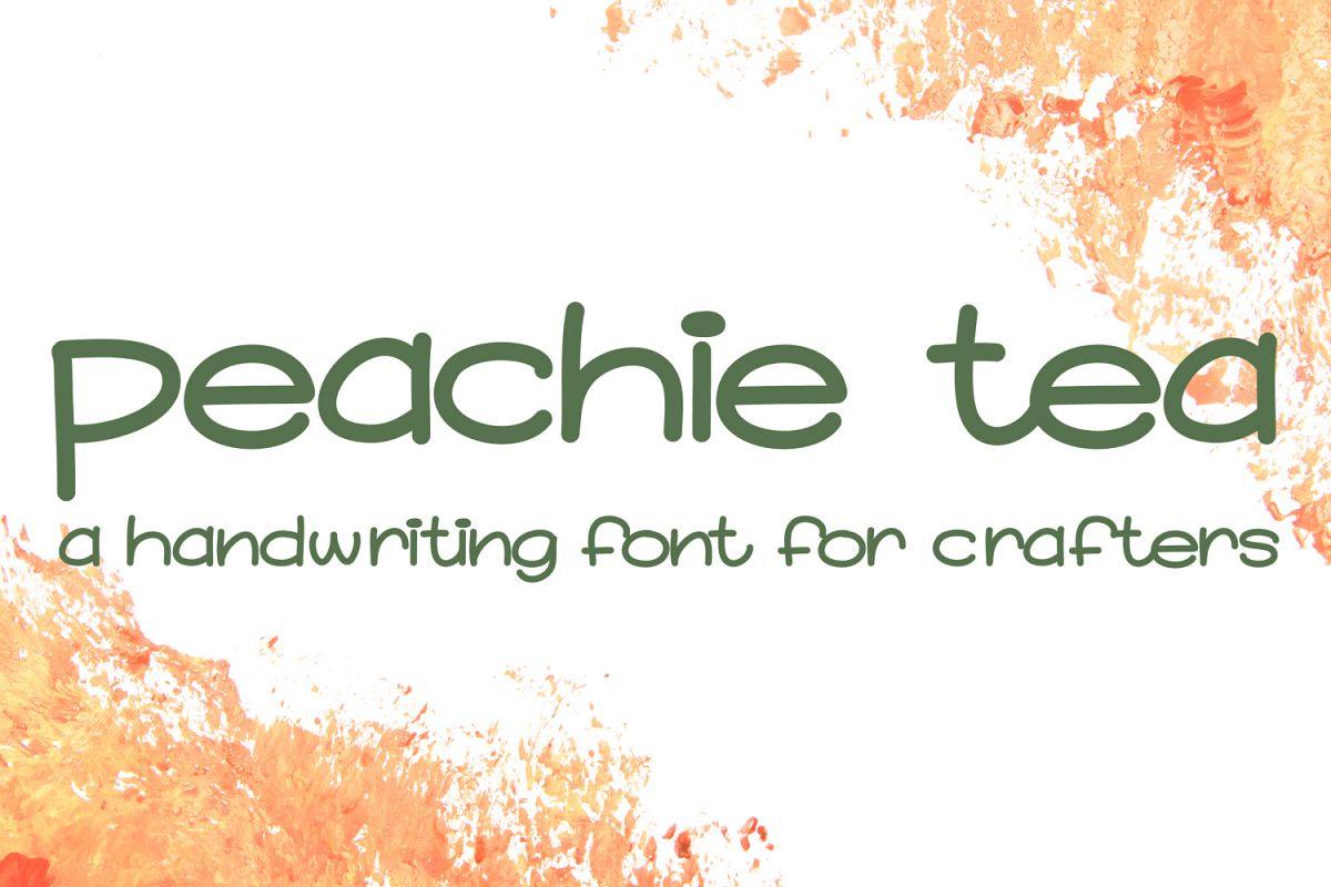 Peachie Tea example image 1