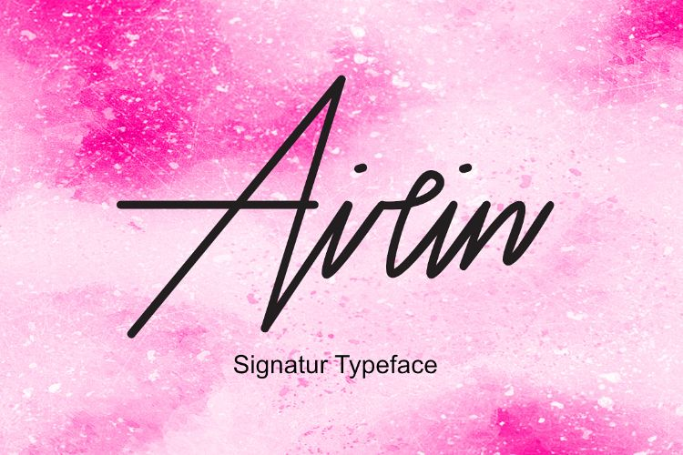 Airin Typeface example image 1