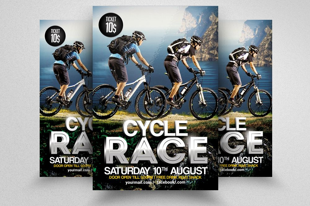 Mountain Bicycle Flyer example image 1