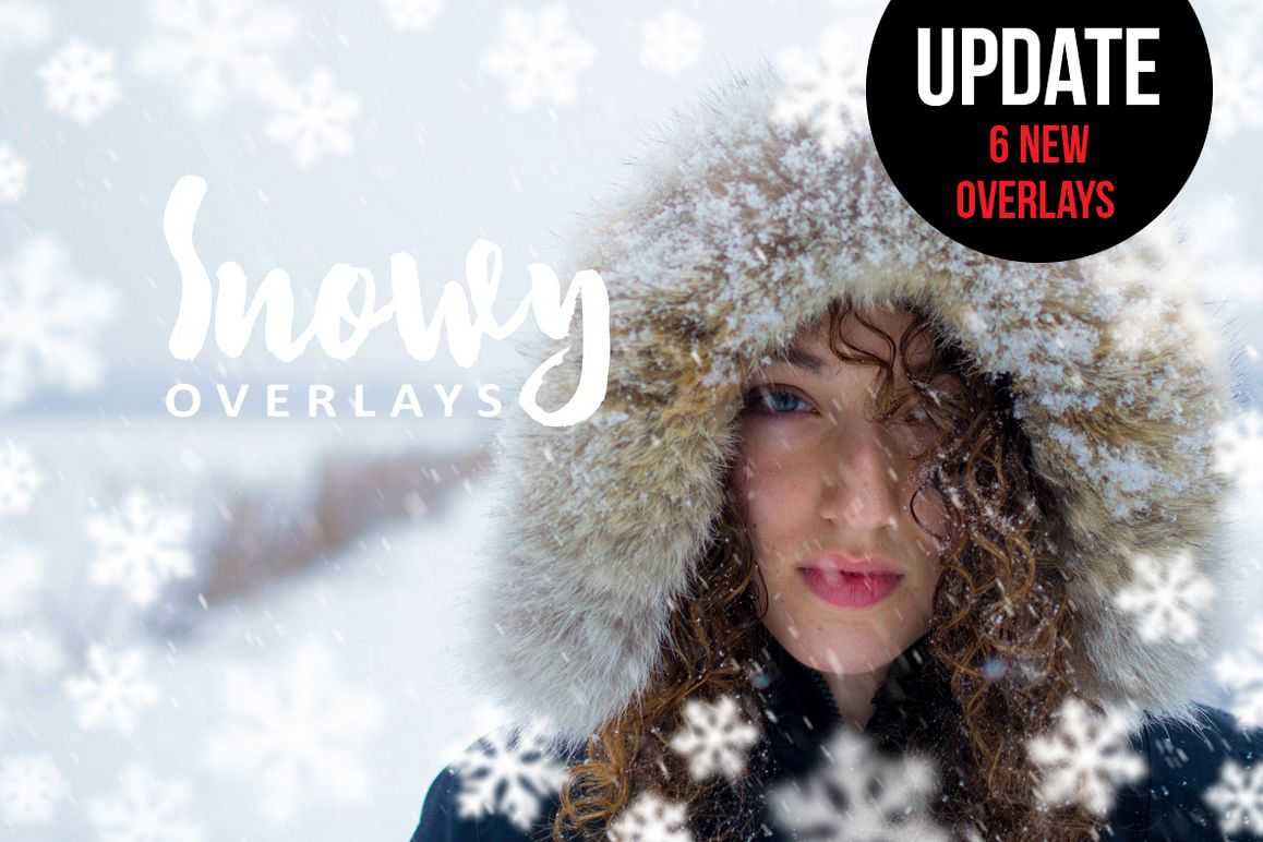 Snowy Overlays example image 1