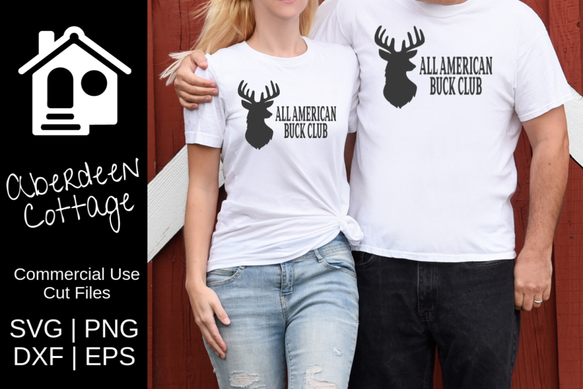 All American Buck Club 2 SVG example image 1