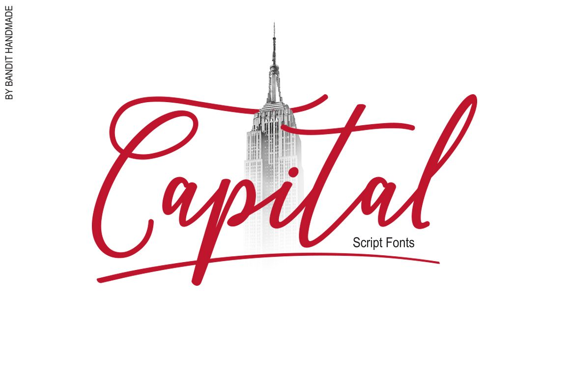 Capital Script example image 1