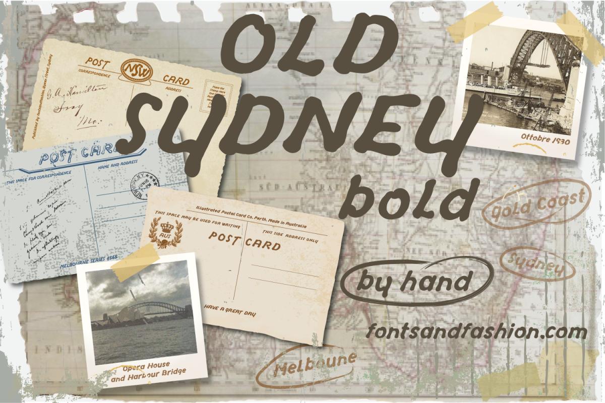 Old Sydney_Bold example image 1