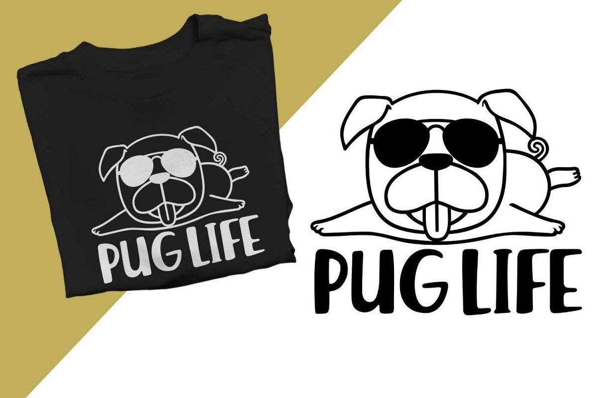Pug Life Printable example image 1