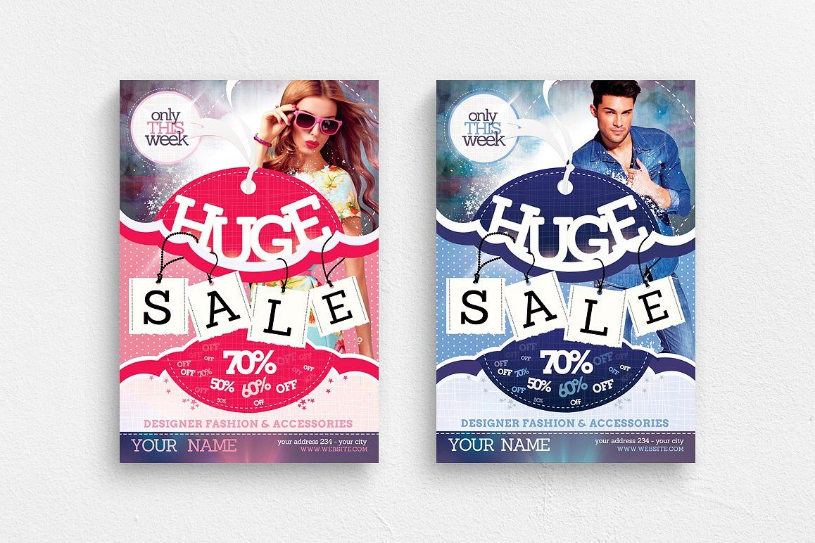 Sale / Promotion Flyer Template example image 1