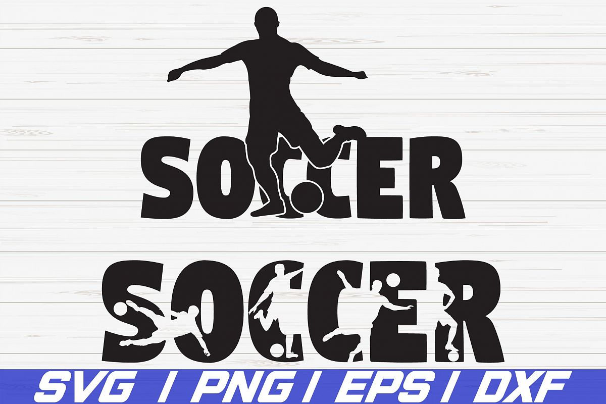 Soccer SVG/ Shirt desgin/ Cut File/ Cricut/ Iron On example image 1