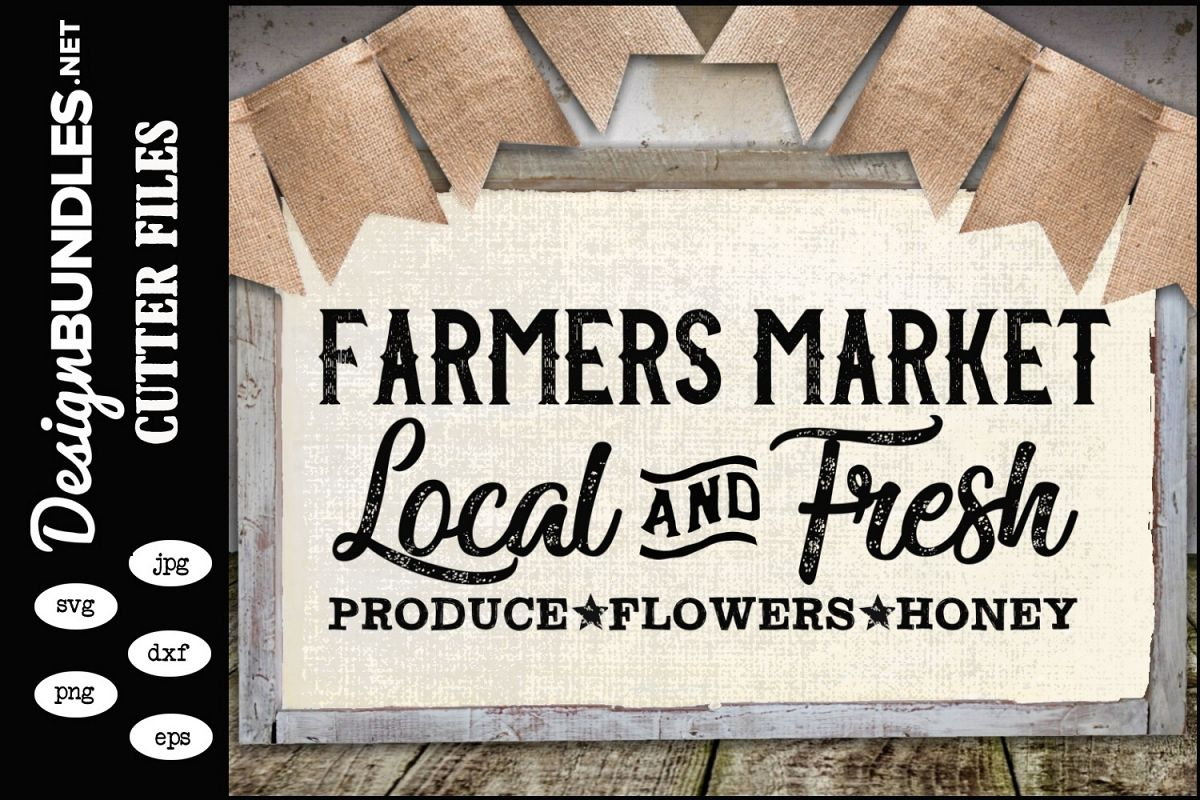 Farmers Market SVG example image 1