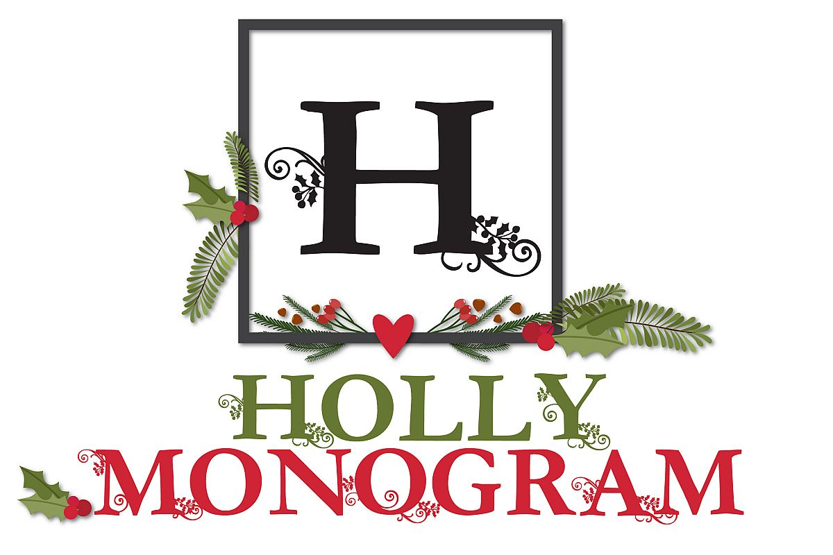 PN Holly Monogram example image 1