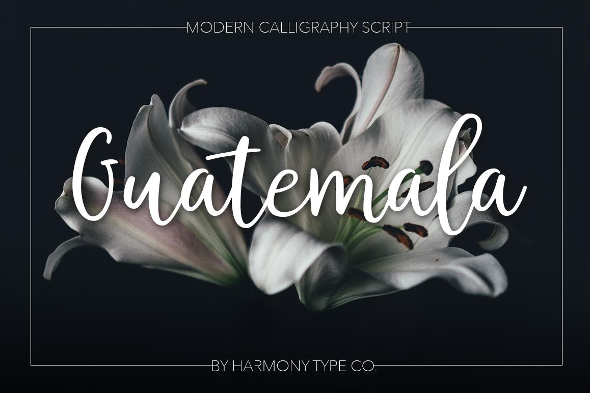 Guatemala Script example image 1