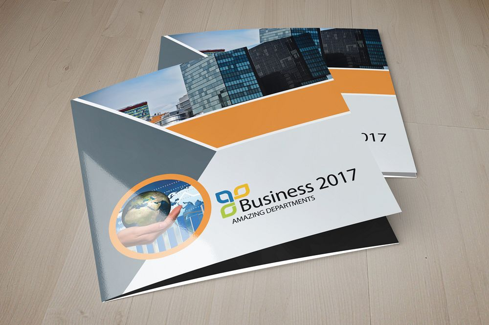 Business Solutions Consultant Square Trifold Brochure example image 1