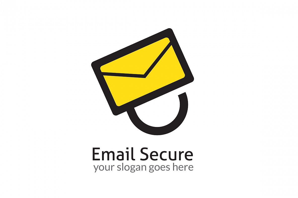 Email Secure Logo example image 1
