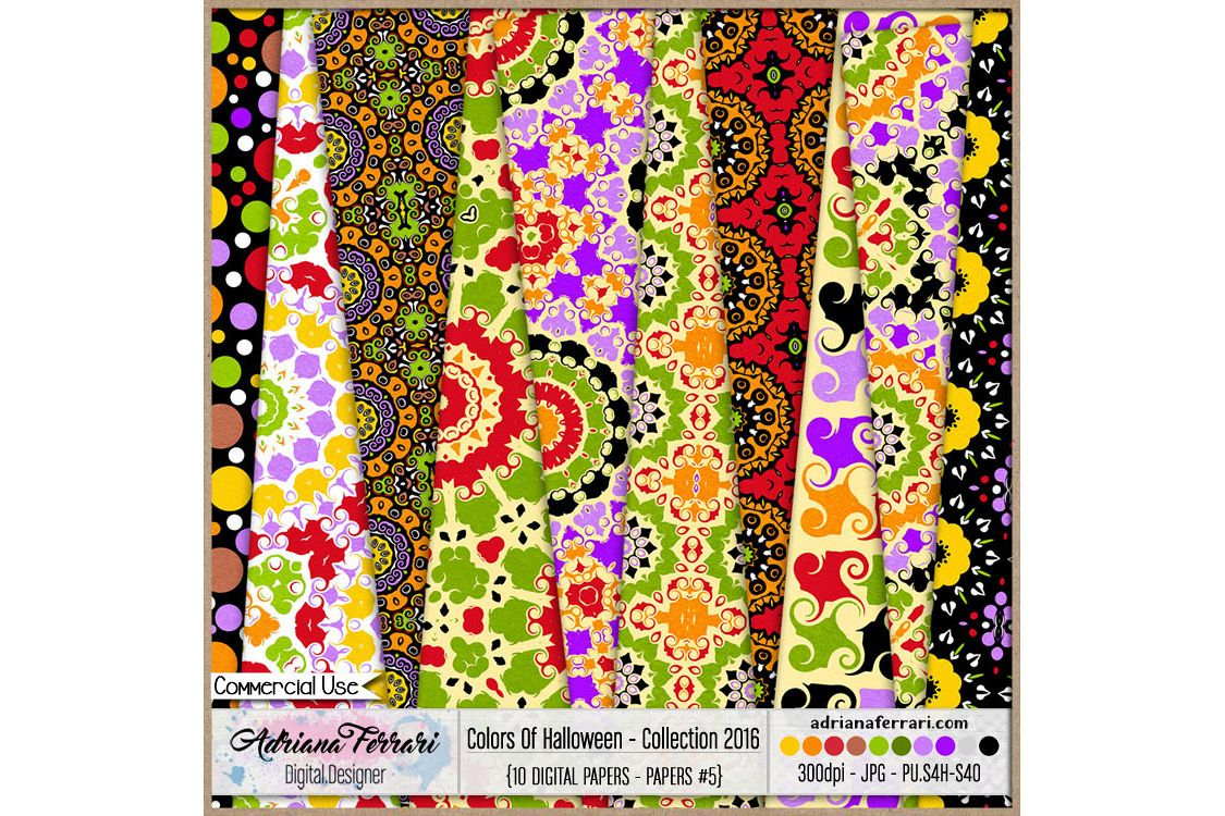 Colors Of Halloween - Collection 2016 - Paper 5 example image 1