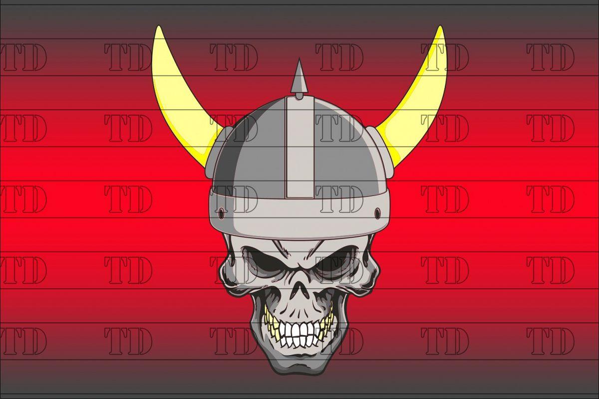 Viking skull example image 1