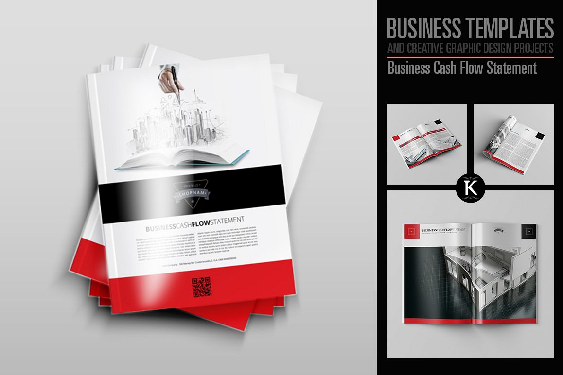 Business Cash Flow Statement example image 1