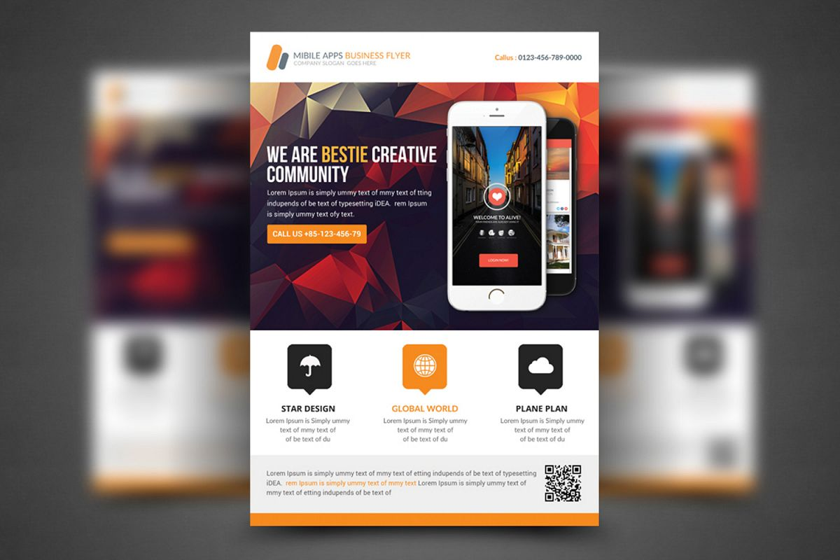 Corporate Flyer / Business Flyer Template example image 1