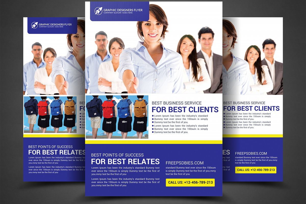 Business Rrlates Flyer example image 1