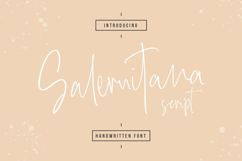 Salernitana Script example image 1