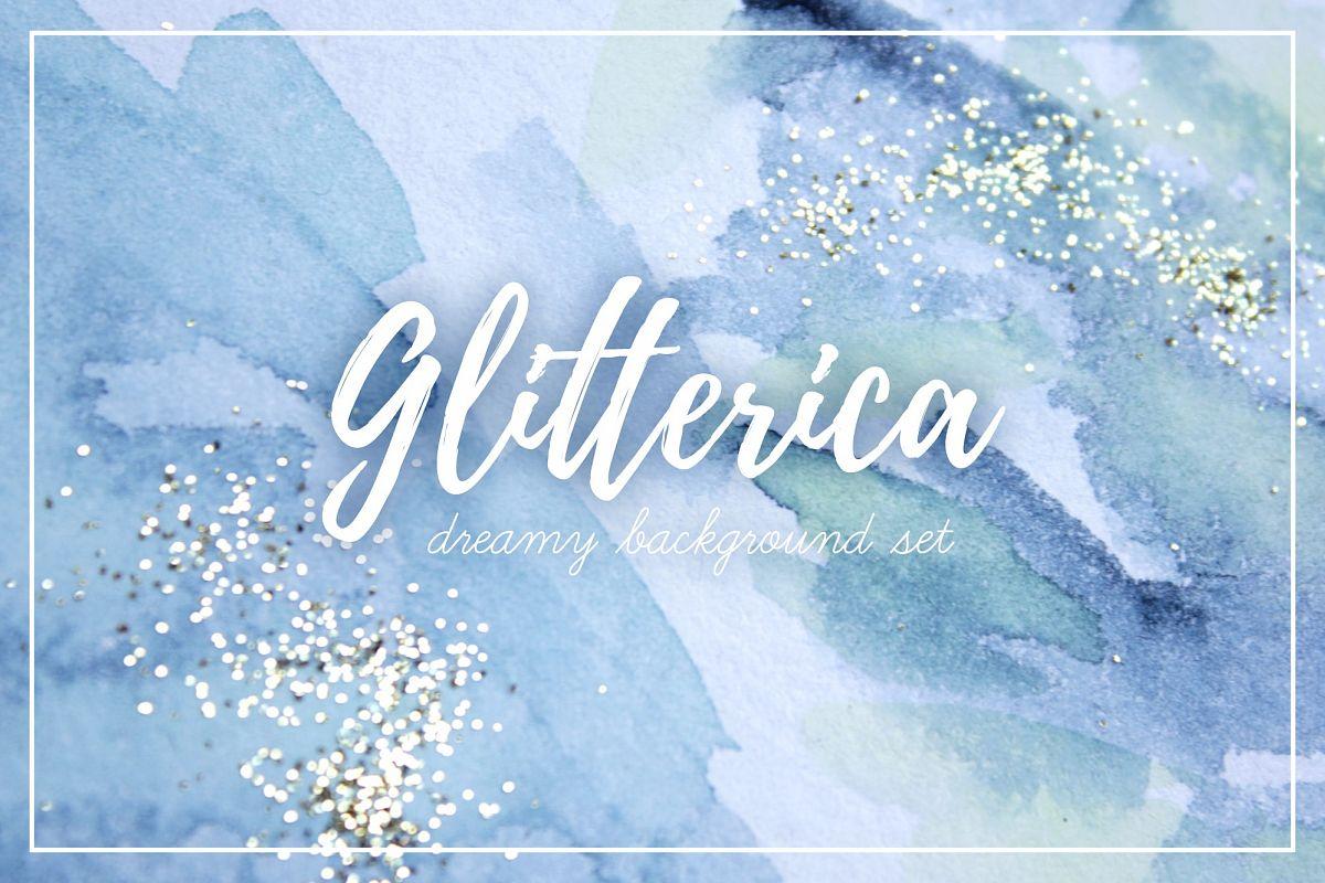 Glitterica Background Set example image 1