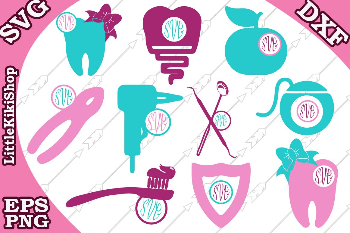 Dentist Svg, Dentist Icon Svg,Tooth Svg,Dentist tools Svg example image 1