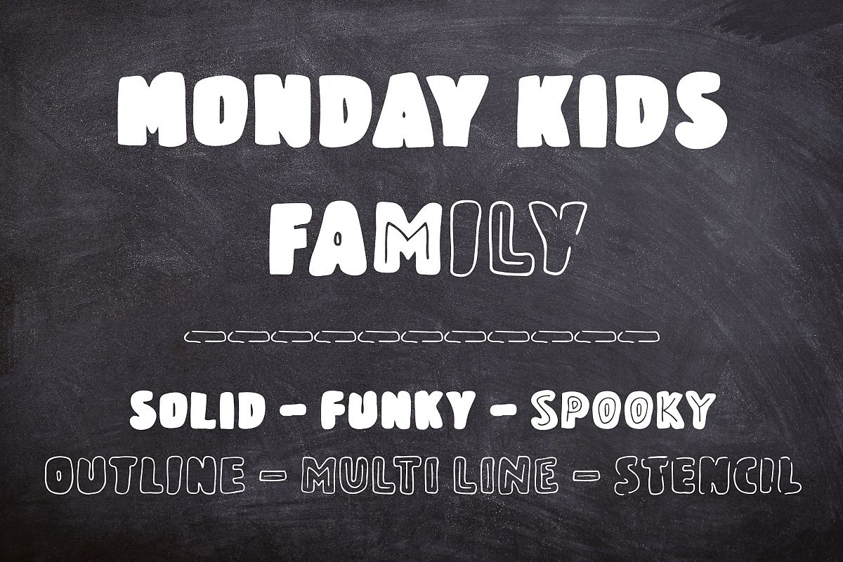 Monday Kids Family example image 1