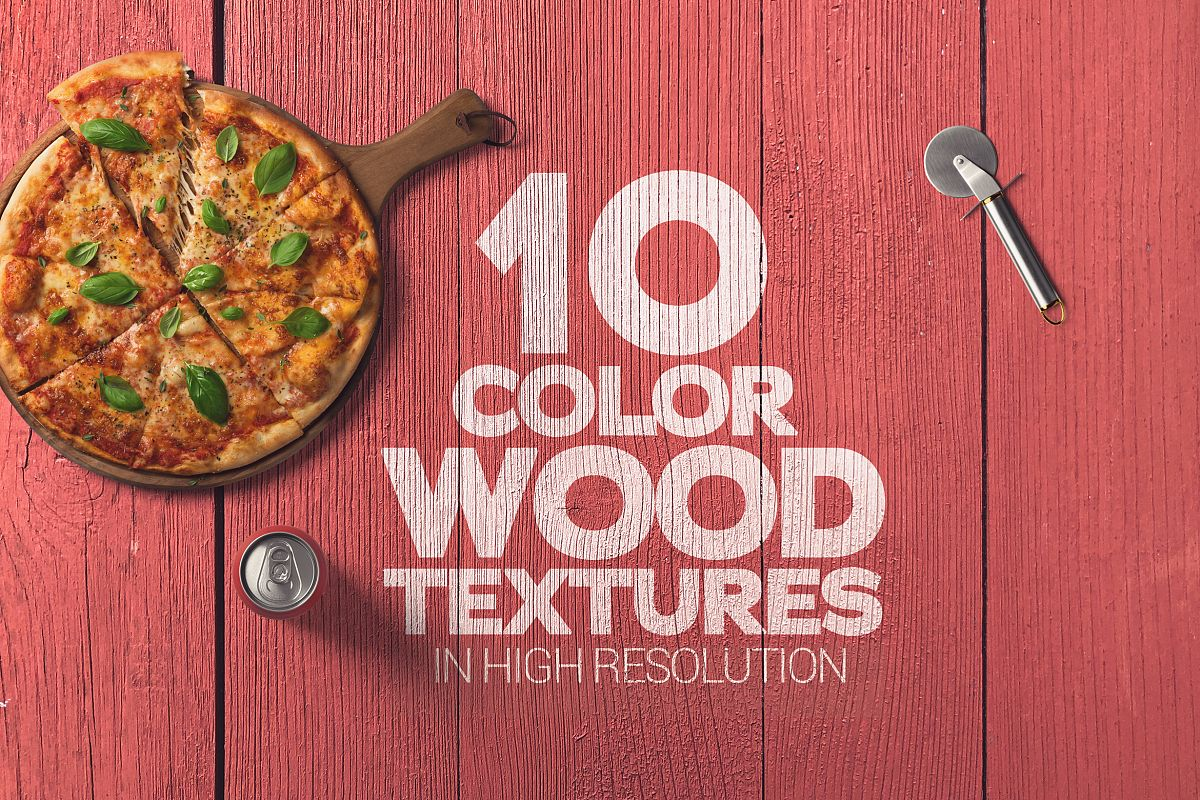 Color Wood Textures x10 example image 1