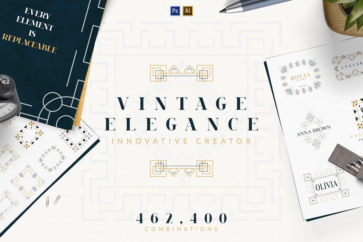 Vintage Elegance Creator example image 1