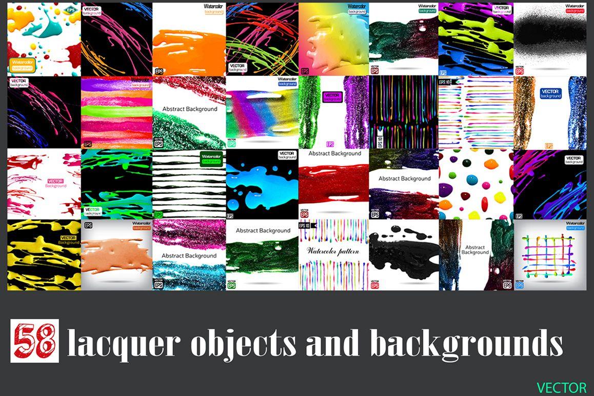 58 Lacquer paint set Vol.1 example image 1