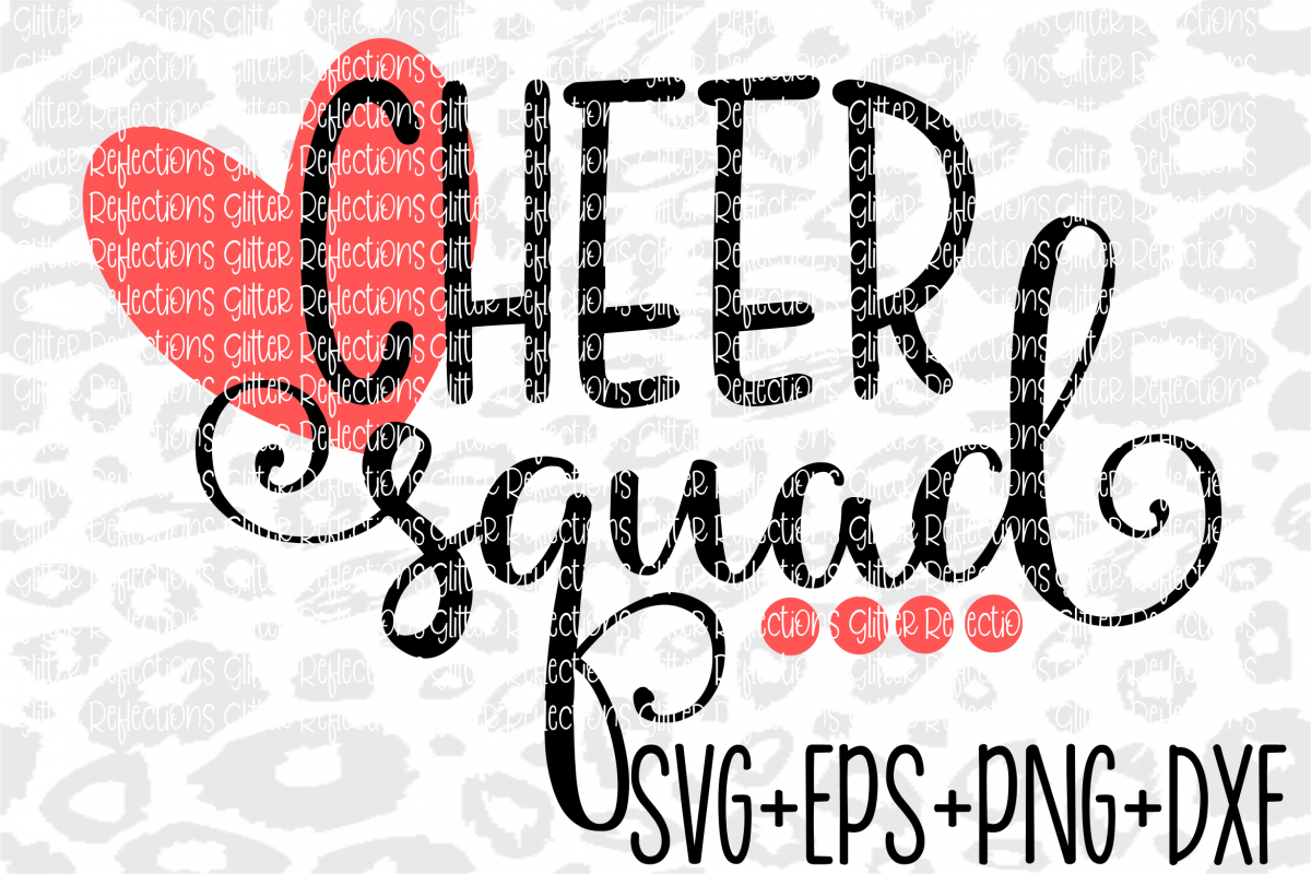 Cheer Squad Svg - SVG- Shirt Design - Cheer Svg example image 1