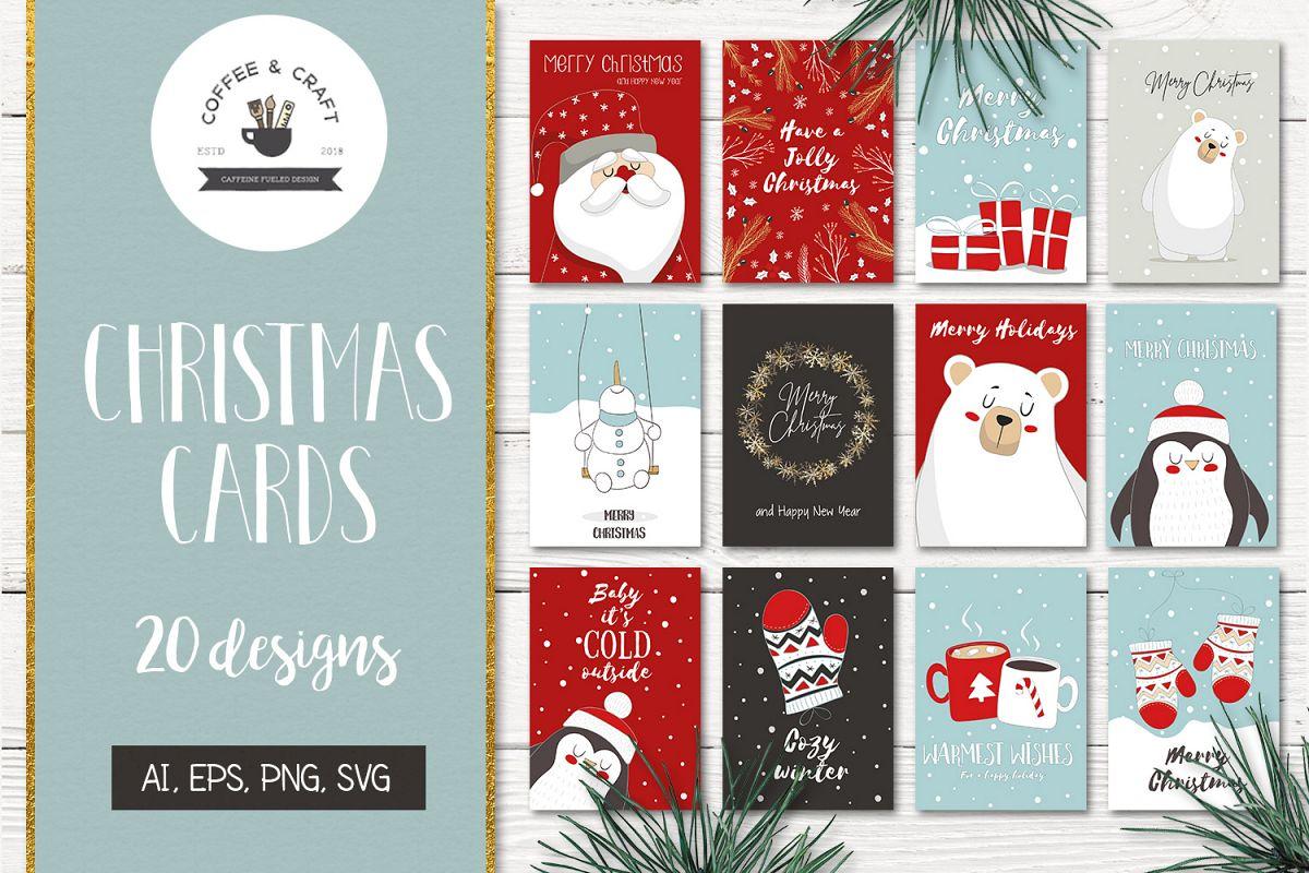 Christmas Card Design.Christmas Card Designs