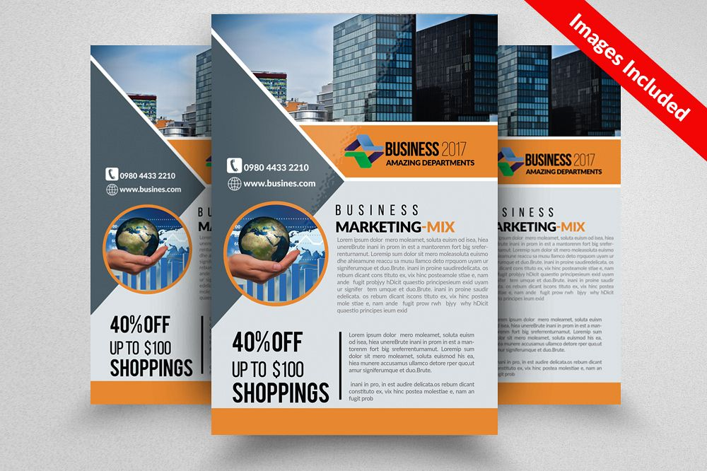 Business Consultants Flyer example image 1