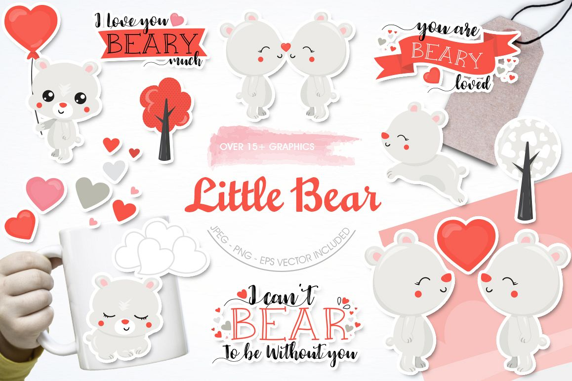 Little Bear graphic and illustrations example image 1