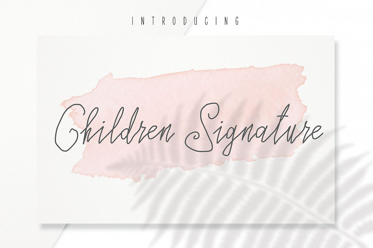 Children Signature example image 1