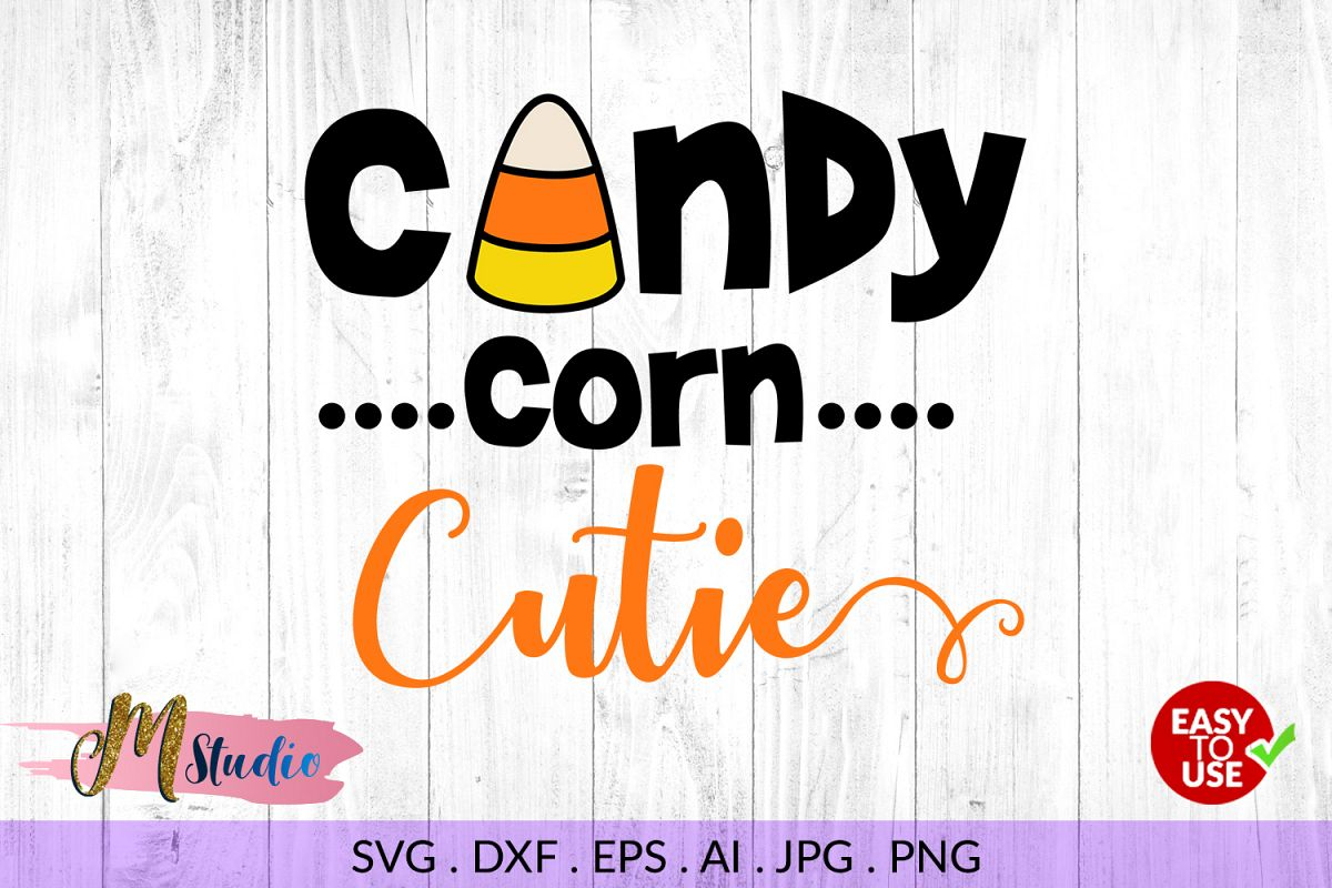 Download Candy corn cutie svg, for Silhouette Cameo or Cricut.