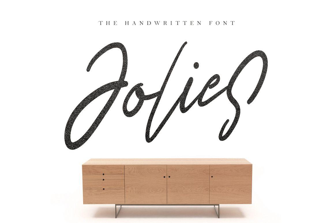 Jolies Typeface example image 1