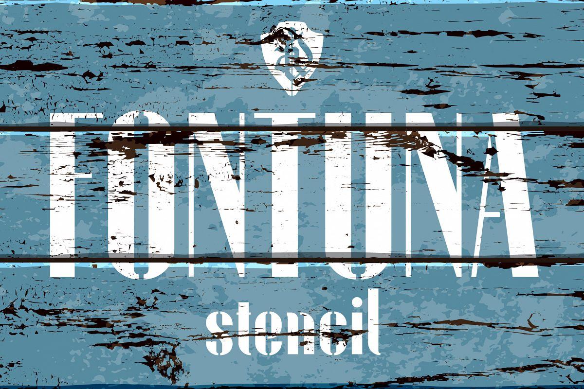 Fontuna stencil example image 1