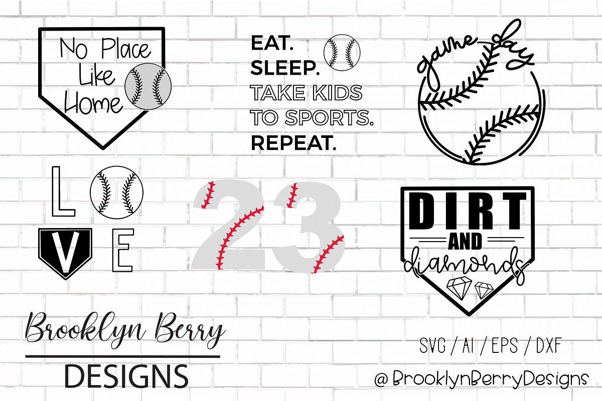 Baseball SVG Bundle example image 1
