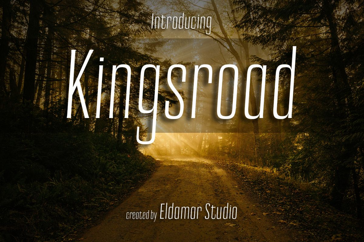 Kingsroad Font example image 1