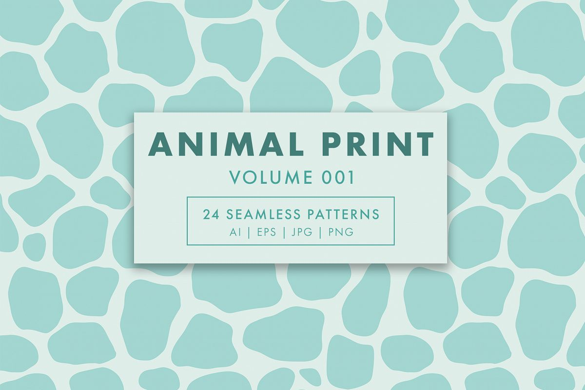 Animal Print Seamless Patterns example image 1