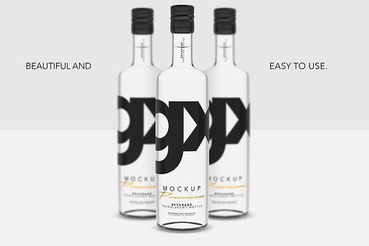 Beverage - Translucent Bottle example image 1