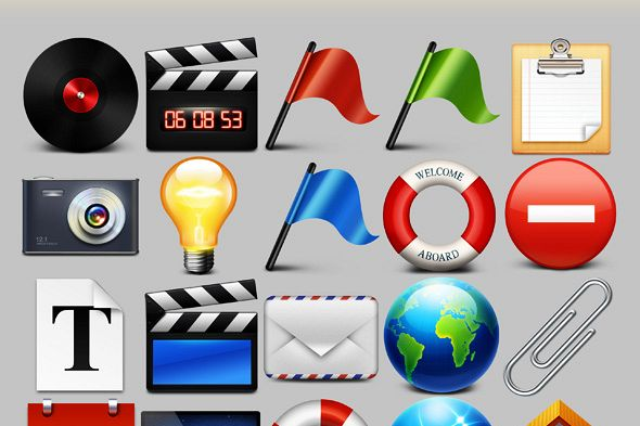 Bokbokstars Stock Iconsâ… example image 1